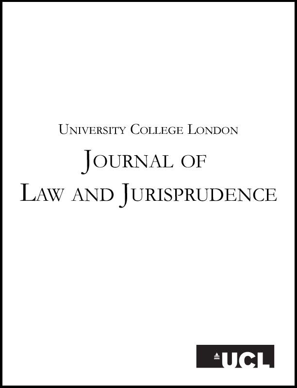 UCL Journal of Law and Jurisprudence