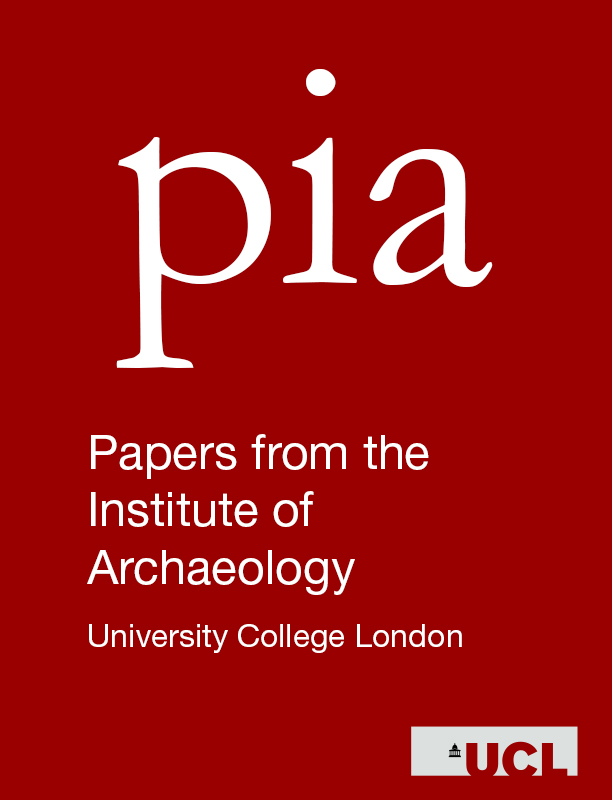 Papers from the Institute of Archaeology